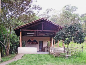 Restaurante da fonte de água mineral Lucema