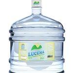 Garrafão Água Mineral Lucema 10 litros