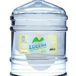 Garrafão Água Mineral Lucema 20 litros